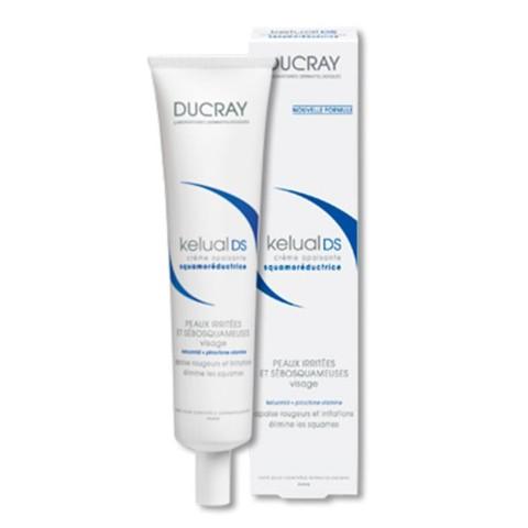 DUCRAY Kelual DS Crema Queratorreductora Pieles Irritadas y Seboescamosas Rostro, 40 ml