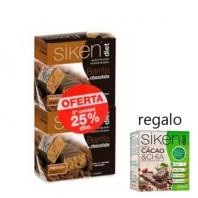 Siken Diet DUPLO Barrita de Chocolate, 2ª unidad -25%