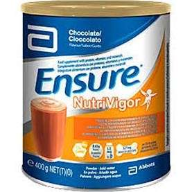 Ensure Nutrivigor sabor chocolate, 400 grs