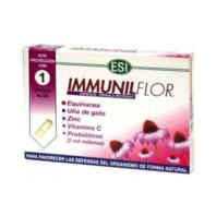 ESI Immunilflor con Equinácea, Uña de Gato, Zinc y Vitamina C, 30 cápsulas | Farmaconfianza