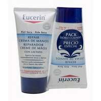Eucerin Repair Crema de manos 5% Urea 75 ml + 75 ml