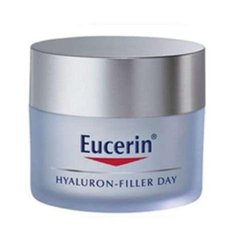 Eucerin Hyaluron Filler Crema Facial de Día Pieles Secas, 50ml