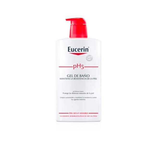 Eucerin pH5 Gel de baño, 1000 ml Farmaconfianza