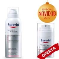 Eucerin Silver Share Espuma de Afeitar + Crema Facial Antiedad Pack Navidad 2017|Farmaconfianza