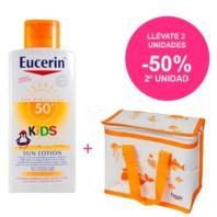 Eucerin Kids Locion SPF50, 400ml Oferta. | Farmaconfianza