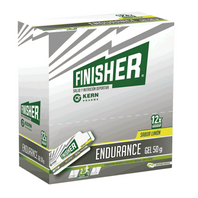 Finisher Intensity Gel Energético sabor fresa, 12 geles x 50 g | Farmaconfianza