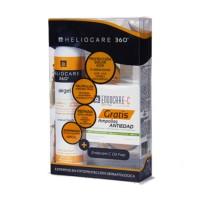 Heliocare 360º Airgel Corporal, 200 ml + REGALO 7 ampollas 1 ml Endocare-C Oil Free