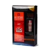 Heliocare Pack Oferta Advaced Gel SPF50, 200 ml + Advanced XF Gel SPF50, 50 ml.