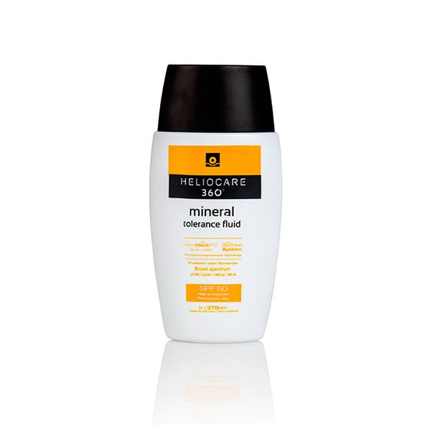 Heliocare 360 Mineral Fluid Tolerance SPF50 Protector Solar, 50 ml