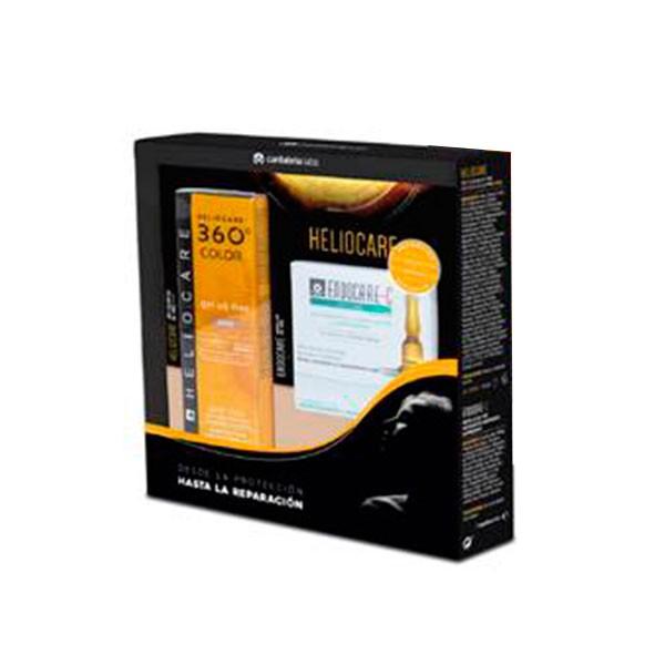Pack Oferta Heliocare 360 Gel Oil Free Bronze + REGALO | Farmaconfianza
