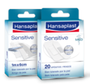 Hansaplast MED Sensitive, 20 apósitos.