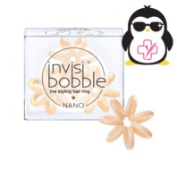 Invisibobble NANO To Be or Nude To Be, 3 gomas | Farmaconfianza