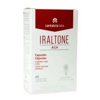 Iraltone AGA Concentrado Nutricional Anticaída, 60 cápsulas ! Farmaconfianza
