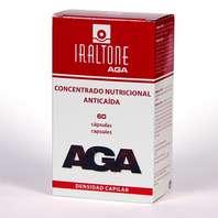 IRALTONE AGA Concentrado Nutricional Anticaída, 60 cápsulas