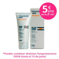 Isdin Fotoprotector Gel Cream SPF50+, 50 ml | Farmaconfianza