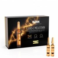 Isdinceutics Flavo-C Melatonin Sérum Reparador de Noche, 30 x 2 ml|Farmaconfianza