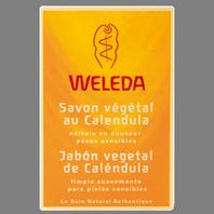 Weleda Jabón Vegetal de Caléndula, 100 g