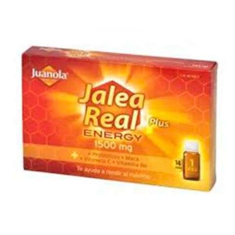 Juanola Jalea Real Energy Plus, 14 viales.