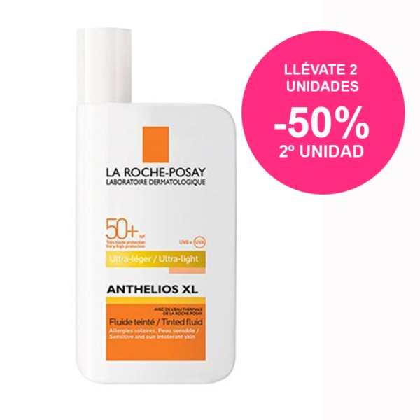 La Roche-Posay Anthelios XL SPF50 Fluido Extremo con Color, 50ml. | Farmaconfianza