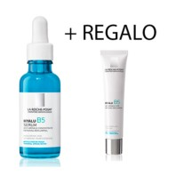 La Roche-Posay Hyalu B5 Sérum, 30 ml + REGALO Hyalu B5 tratamiento antiarrugas, 7,5 ml