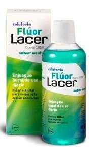 Lacer Flúor Diario 0,05% sabor MENTA, 500 ml