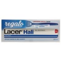Lacer Hali Gel Dentífrico 125 ml. + REGALO Limpiador Lingual | Farmaconfianza