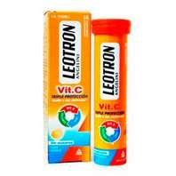 Leotron Vit. C, 36 comprimidos efervescentes sabor naranja