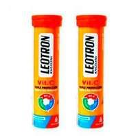Leotron Vit. C, 18 comprimidos efervescentes sabor naranja