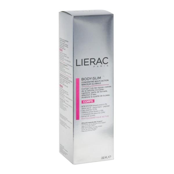 Lierac Body-Slim Concentrado Multi-Acción Adelgazamiento Global, 200 ml