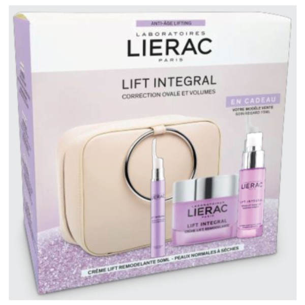 Lierac Cofre Deluxe Lift Integral Crema Sedosa + Sérum Ojos + REGALO Sérum Facial