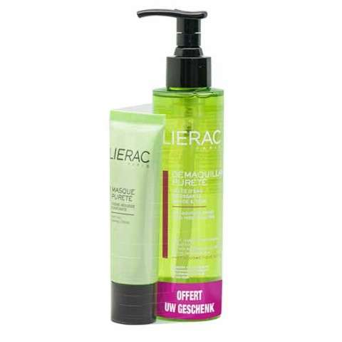 lierac démaquillant pureté gel espumoso - rostro & ojos - 200 ml