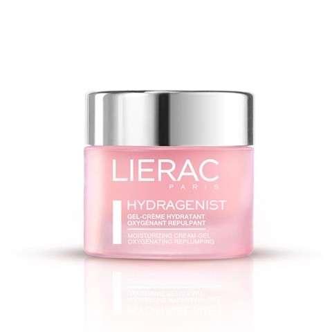 LIERAC HYDRAGENIST Gel-Crema Hidratante Oxigenante Rellenador, 50 ml.