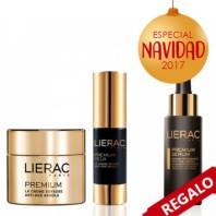 Lierac Premium Crema Sedosa + Contorno de Ojos + REGALO Sérum Pack Navidad 2017|Farmaconfianza