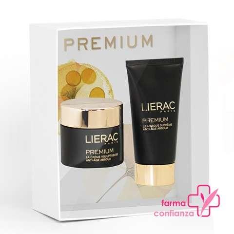 LIERAC Premium Cofre Oferta Crema Voluptuosa, 50 ml + Mascarilla Suprema, 75 ml