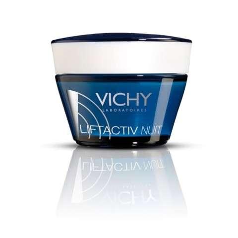 Vichy Liftactiv Anti-Arrugas Firmeza Integral Tratamiento de Noche, 50 ml