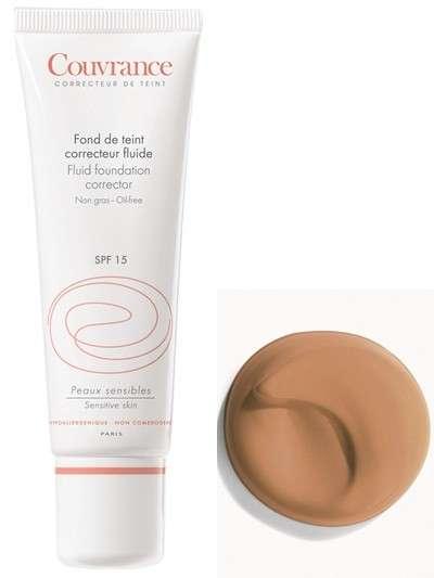 Avène Couvrance Maquillaje Fluido miel, 30 ml