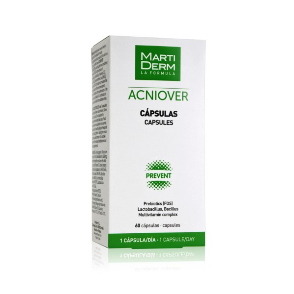 Martiderm Acniover 60 cápsulas | Farmaconfianza | Farmacia Online