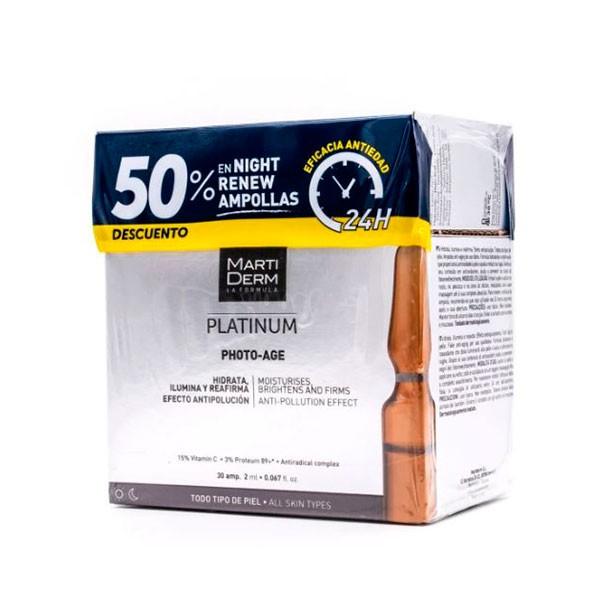 Martiderm Photo-Age 30 ampollas + OFERTA Alfa-Pelling | Farmaconfianza
