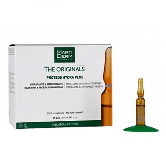 Martiderm Proteoglicanos Hidratante y Reafirmante Piel Normal y Seca, 30 ampollas | Farmaconfianza