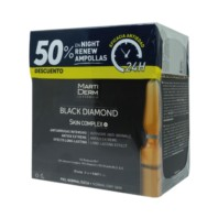 Martiderm Black Diamond Skin Complex+, 2 ml. 30 amp. + OFERTA -50% Martiderm Night Renew 10 ampollas | Farmaconfianza