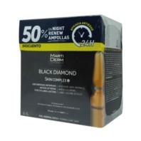 Martiderm Black Diamond Skin Complex+, 2 ml. 30 amp. + OFERTA -50% Martiderm Night Renew 10 ampollas | Farmaconfianza