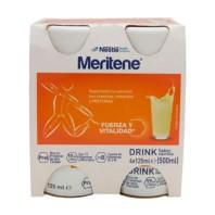 Meritene Drink de Nestlé Sabor Vainilla 4x125 ml ! Farmaconfianza