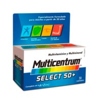 Multicentrum Select 50+, 90 comprimidos