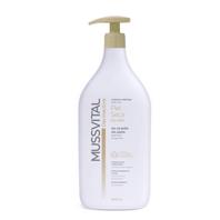 Mussvital Dermactive Gel de Baño sin Jabón para Piel Seca, 1000 ml