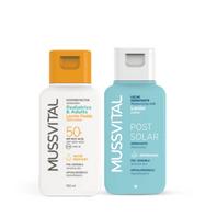 Mussvital Pack Oferta Loción Pediatric/Adults SPF50, 100 ml + Loción Post-Solar, 100 ml