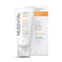 Mussvital Protector Solar Fluido Facial Antiedad SPF50, 50 ml | Farmaconfianza