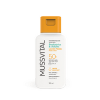 Mussvital Protección Solar Pediatrics/Adults Loción Fluida SPF50, 100 ml.