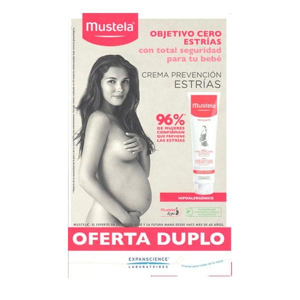 Mustela Crema Prevención Estrías Oferta DUPLO, 2 x 250 ml | Farmaconfianza