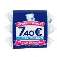 Compra Online Toallitas Cara Bebé Mustela Oferta Pack 3xc25 unidades