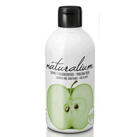 Naturalium Fruit Pleasure Champú Acondicionador Manzana Verde, 400 ml